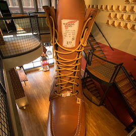Work boot by Darrell Kroulik - Artistic Objects Clothing & Accessories