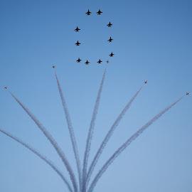 Aerobatics #5 by Koh Chip Whye - Transportation Airplanes (  )