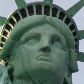 Liberty by Leelamohan Anantharaju - Buildings & Architecture Statues & Monuments ( famous_statues, portraits, statue, tourist attraction, new york )
