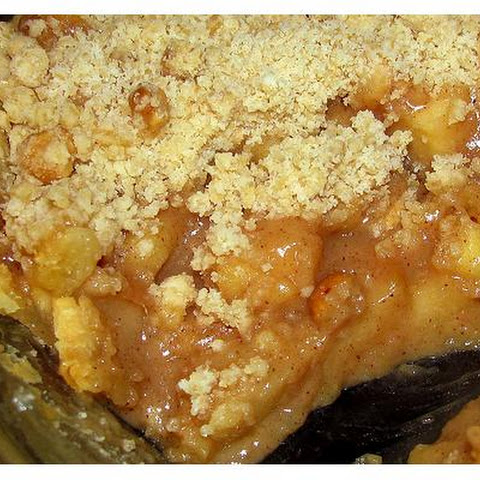 Salty-Caramel Apple Pie