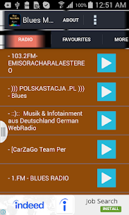 Blues Music Radio - screenshot