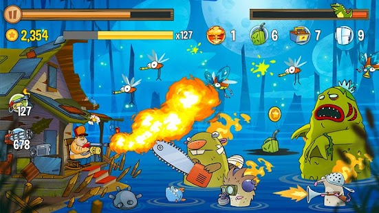 Game Swamp Attack apk for kindle fire