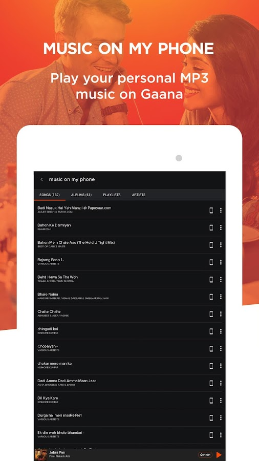 Gaana: Bollywood & Hindi Songs Screenshot 14