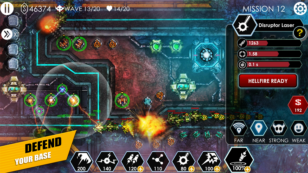 Tower Defense: Invasion HD Screenshot 1