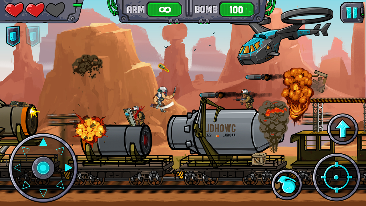 Metal Shooter Screenshot 0
