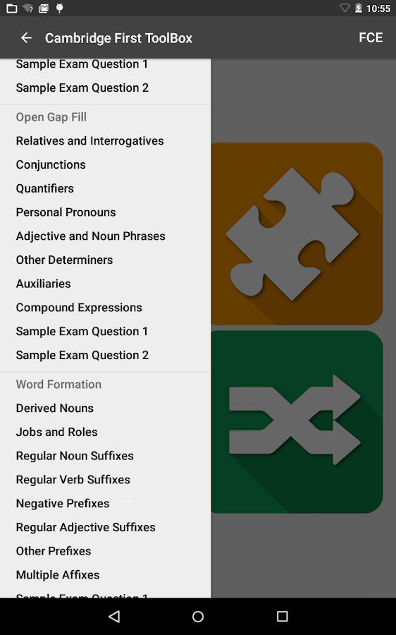 Cambridge First ToolBox Screenshot 17