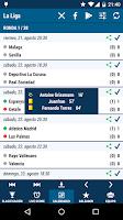 Screenshot of La Liga