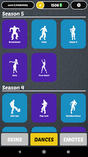 Battle Royale - Dances and Emotes and Skins For PC