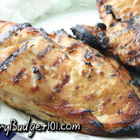Honey Dijon Marinated Chicken