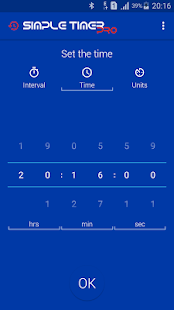 Simple Timer Pro - screenshot