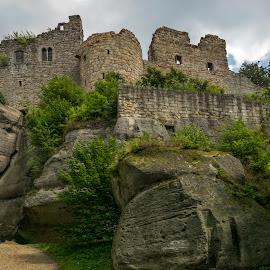 Oybin by Petr Germanič - Uncategorized All Uncategorized ( history, deutschland, stone, castle, king )