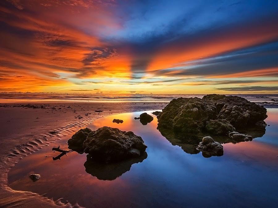 Frozen Burn by Esmar Abdul Hamid - Landscapes Waterscapes