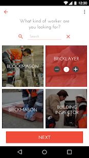 The Square Construction Business app for Android Preview 1