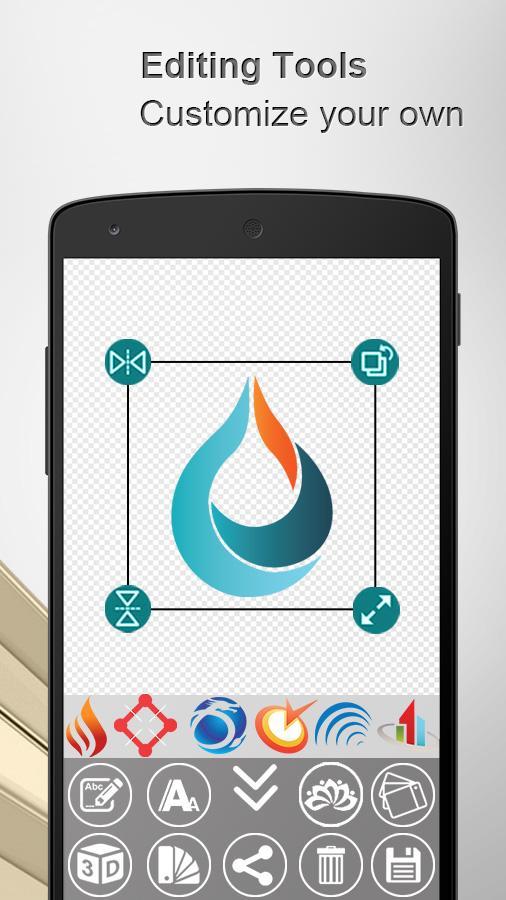 Logo Maker 3D & Logo Creator Screenshot 2