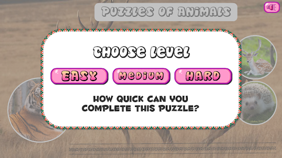 Puzzles of Animals Free - screenshot