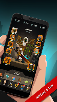 Questland: Turn Based RPG APK screenshot thumbnail 2