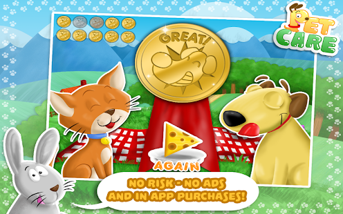 Pet Care - Game For Toddlers - screenshot