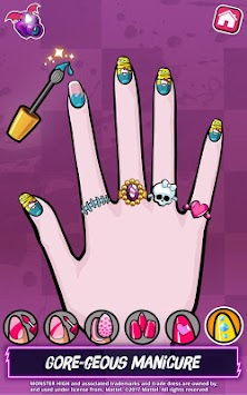 Monster High™ Beauty Shop: Fangtastic Fashion Game APK screenshot thumbnail 6