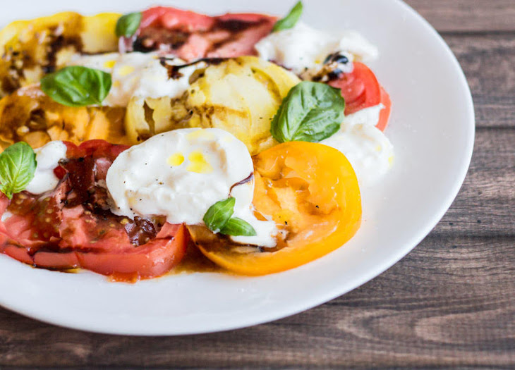 Caprese Salad with Burrata Recipe | Yummly