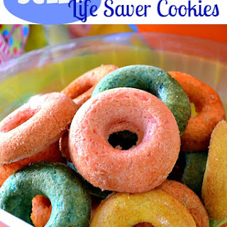 Jello Life Saver Cookies
