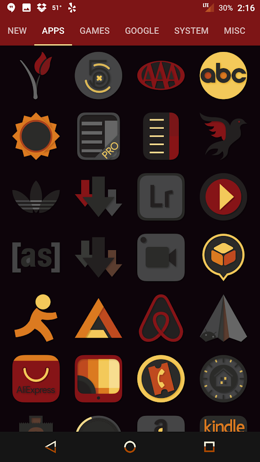 Desaturate - Free Icon Pack Screenshot 8