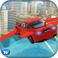Flying Car Flight Pilot 3D APK for Bluestacks