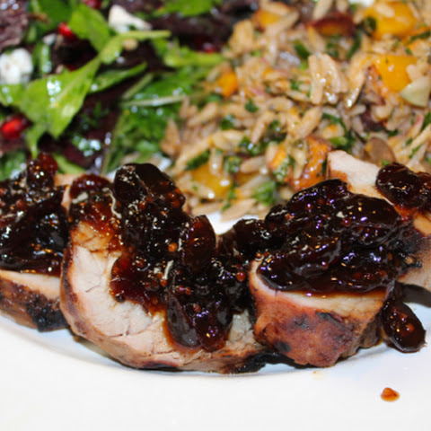 Grilled Cranberry Maple Dijon Pork Tenderloins