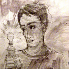 idea by Vesna Disich - Drawing All Drawing ( sketch, vesna disich, bw, drawing )