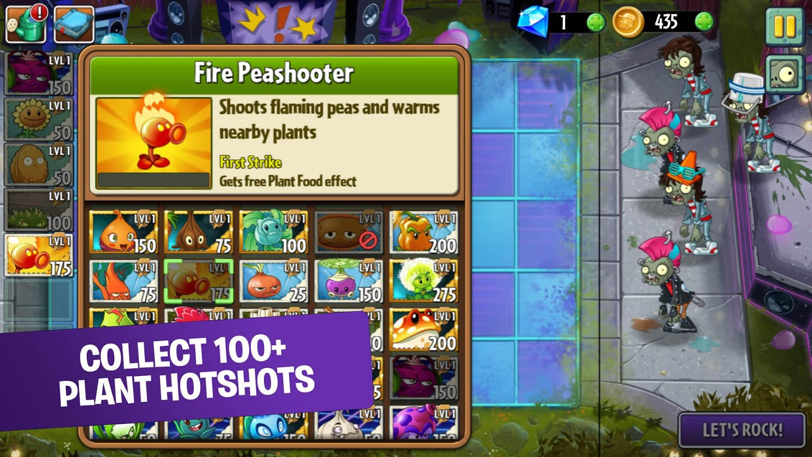 Plants vs. Zombies 2 Screenshot 1