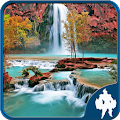 Game Waterfall Jigsaw Puzzles apk for kindle fire