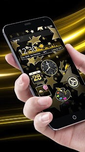 How to download Theme Luxury Gold Star patch 1.1.1 apk for android