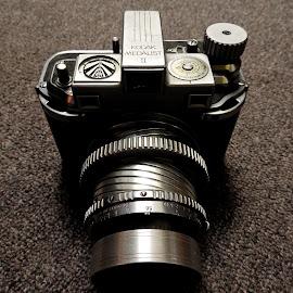 Medalist by Campbell McCubbin - Artistic Objects Technology Objects ( camera, kodak, gray, lens, medalist )