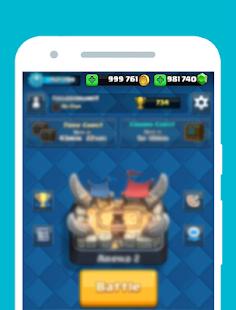 App Gems Of Clash Royale Prank apk for kindle fire