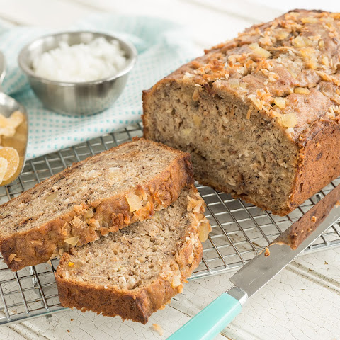 Coconut Ginger Banana Bread