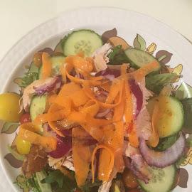 Fresh Salad by Dawn Simpson - Food & Drink Plated Food ( salad, greens, fresh, summer, carrot )