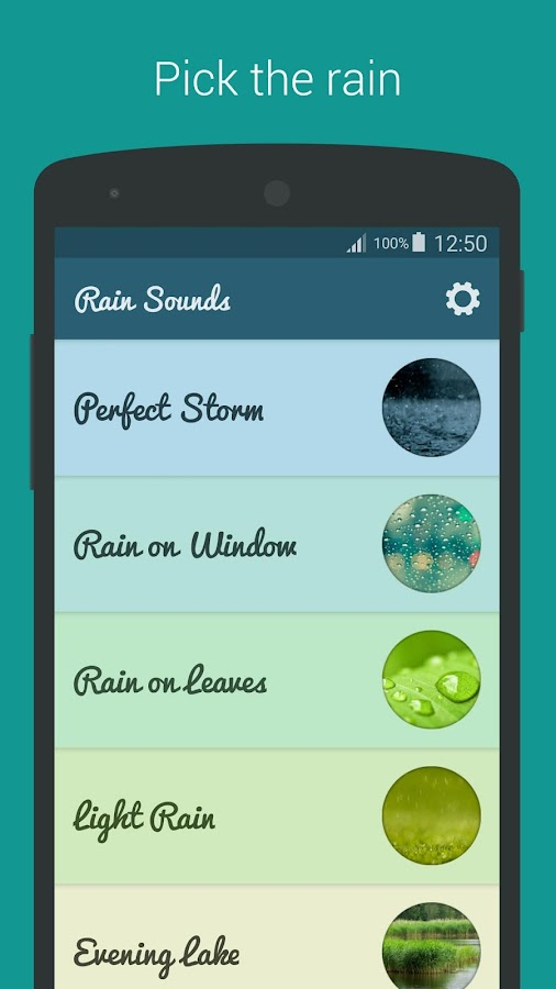 Rain Sounds - Sleep & Relax Screenshot 0