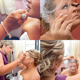 Oh make-up by Rebekah Cameron - Wedding Getting Ready