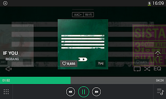 Screenshot of 네이버 뮤직 - Naver Music