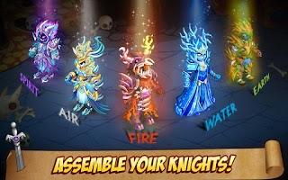 Screenshot of Knights & Dragons