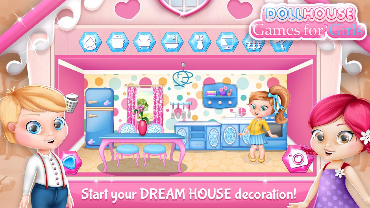 Dollhouse Decorating Games Screenshot