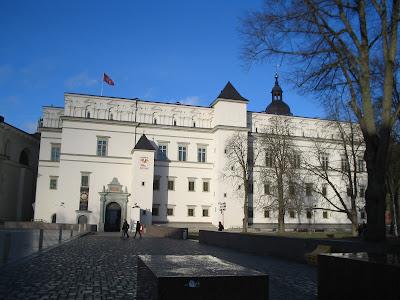 Дворец правителей в Вильнюсе