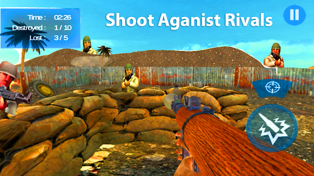Fling Fighter Shooting apk screenshot