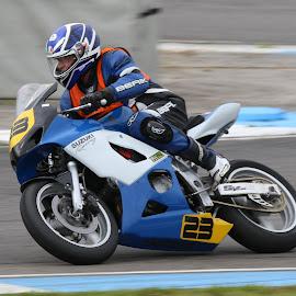 Suzuki Racing by John Davies - Sports & Fitness Motorsports ( pembrey circuit, jd photography, motorsport )