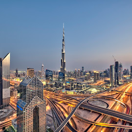 Heart of the City, My Dubai by Vic Pacursa - Buildings & Architecture Office Buildings & Hotels ( dubai, nikkor, long exposure, nikon, dubai photographer )