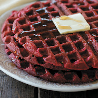 How to make Red Velvet Waffles