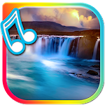 Waterfall Live Wallpaper With Sound Icon
