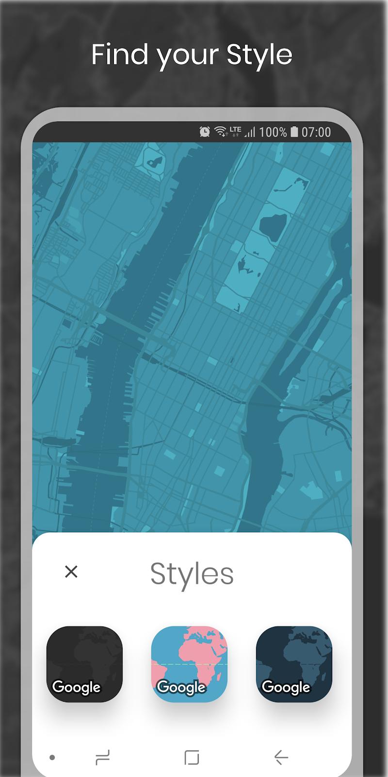 Cartogram - Map Wallpapers & Backgrounds Screenshot 3