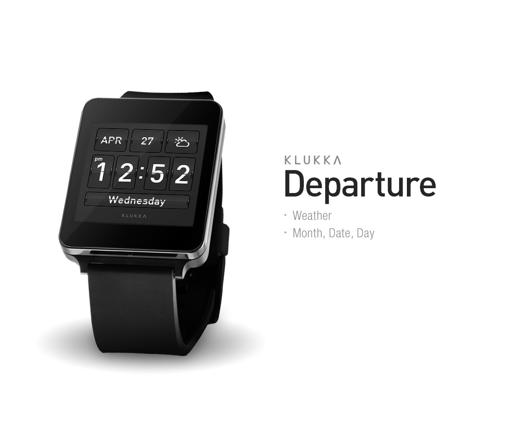 Departure Watchface by Klukka Screenshot 2
