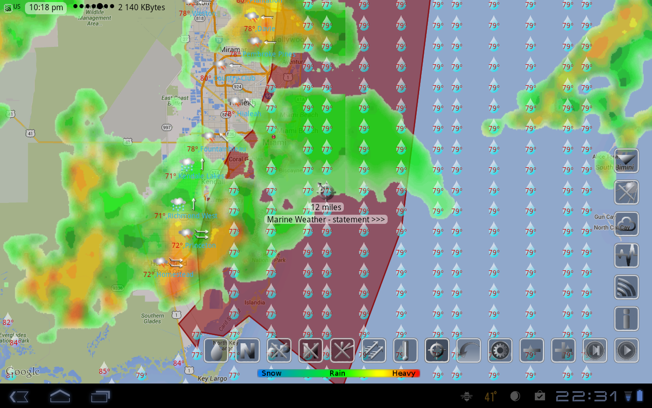 eWeather HD, Radar, Alerts Screenshot 19
