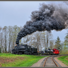 Cass Scenic Railroad , West virginia by Will Zook - Transportation Trains